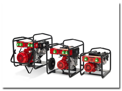CP Concrete Equipment - Generators