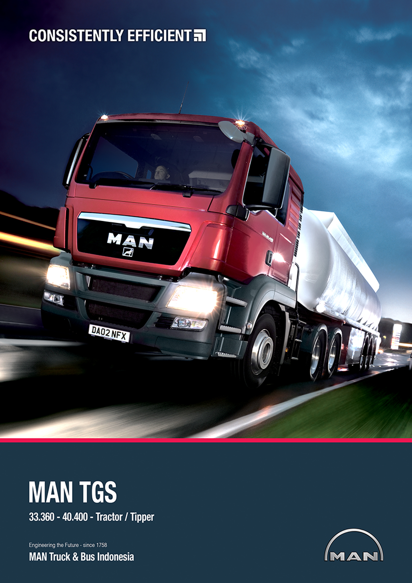 MAN TGS Tractor